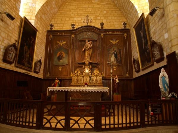Photo Domme - Domme - Eglise Notre-Dame de l'Assomption - Choeur