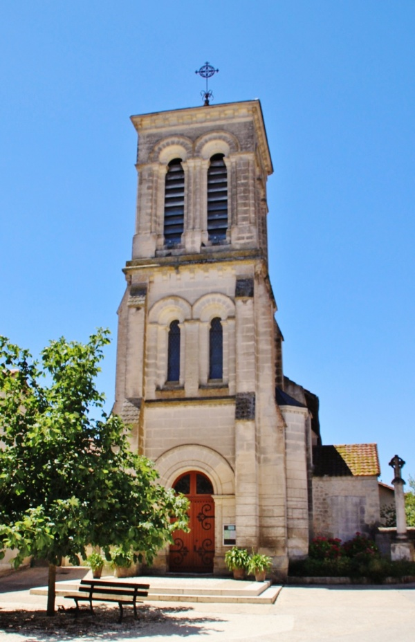 Photo Gout-Rossignol - église St Pierre