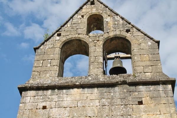 clocher Saint André  D'Allas église St Barthelemy