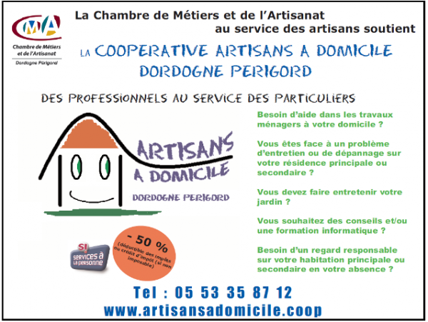Coopératives artisanales de services à la personne