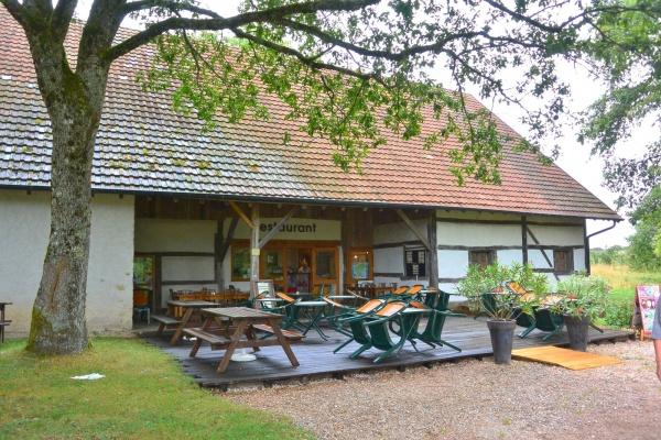 Nancray 25 - Au musée des maisons comtoises.Le restaurant.