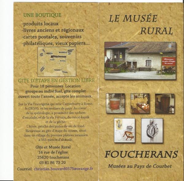 Musee et gite de FOUCHERANS