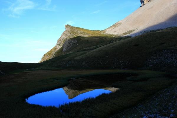 Photo Lus-la-Croix-Haute - Lac du Lauzon... le seul du massif calcaire du Dévoluy