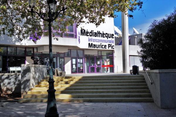 Montélimar.26.Médiathèque.