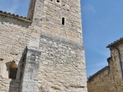 Photo paysage et monuments, Le Poët-Laval - ruine de la chapelle castrale saint jean  jerusalem