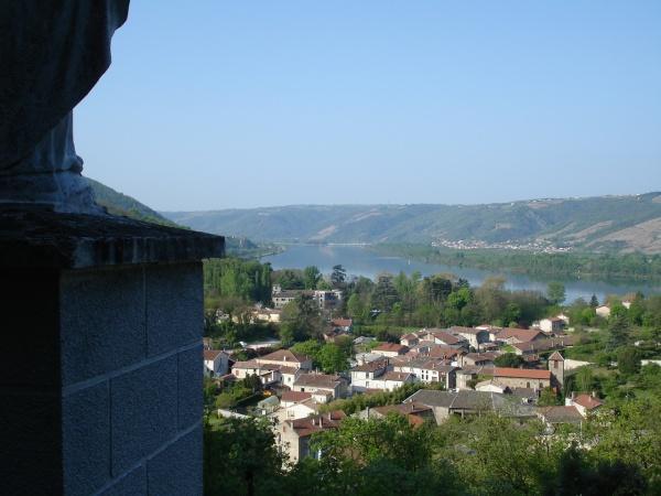 Photo Ponsas - La vallée du Rhône vue de la Madone