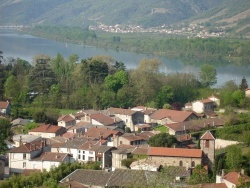 Photo paysage et monuments, Ponsas - Le village  (vue de la Madone)