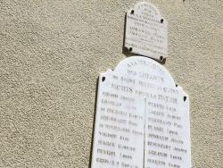 Photo paysage et monuments, Saint-Julien-en-Quint - le Monument Aux Morts
