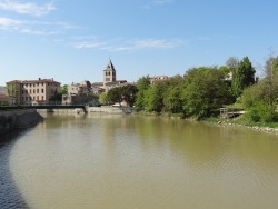 Photo paysage et monuments, Saint-Vallier - la Galaure à Saint-Vallier/Rhône