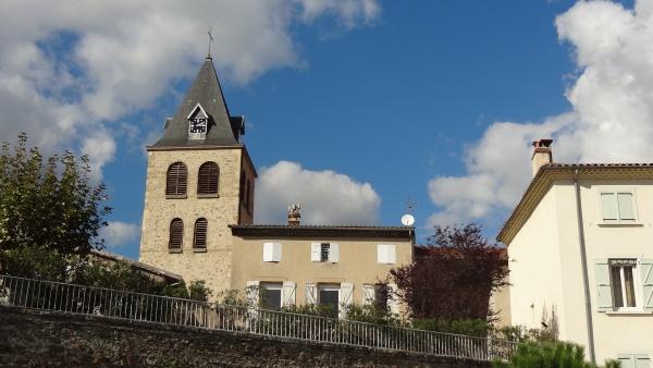 l'église de Saint-Vallier/Rhône