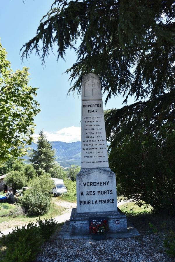Photo Vercheny - le Monument Aux Morts