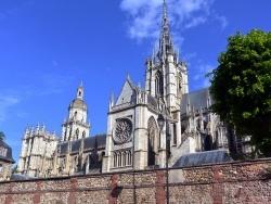 Photo paysage et monuments, Évreux - Evreux.27-Cathédrale Notre-Dame.
