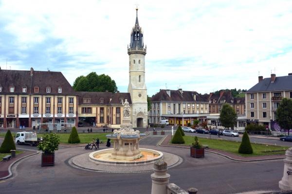 Photo Évreux - Evreux.27-Tour de l'horloge.