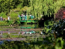 Photo paysage et monuments, Giverny - Giverny.27-Fondation Claude Monet.Le bassin aux nymphéas.