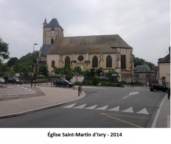 Eglise Saint-Martin d'Ivry-la-Bataille (27)