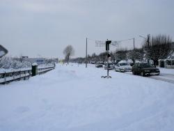 Photo paysage et monuments, Nonancourt - neige & froid