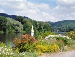 Photo paysage et monuments, Poses - jardin du peintre en bord de Seine