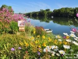 Photo paysage et monuments, Poses - Bord de Seine-jardin du peintre Michèle Ratel