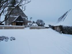 Photo paysage et monuments, Rougemontiers - Eglise sous la neige