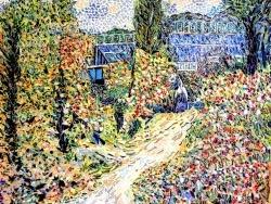 Photo dessins et illustrations, Douarnenez - Douarnenez, La Serre, influence Pierre-Auguste Renoir