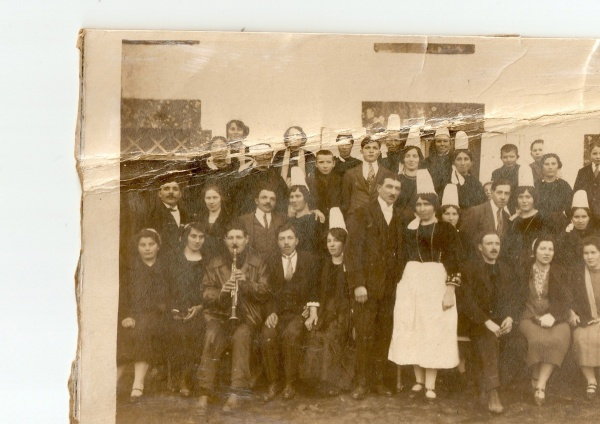 Mariage à Landudec en Janvier 1927.