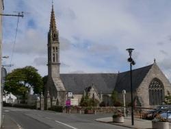 Photo paysage et monuments, Plozévet - église St Demet