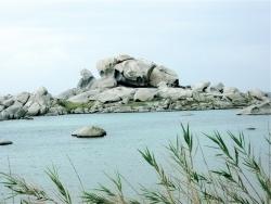 Photo paysage et monuments, Bonifacio - Une petite plage de rêve