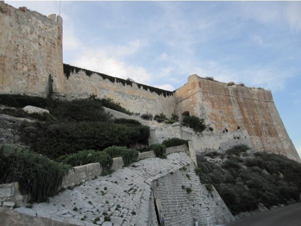 Enceinte de la vieille ville de Bonifacio