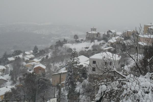 Photo Cervione - Cervione sous la neige