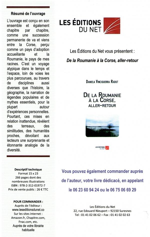 De la Roumanie à la Corse, aller-retour
