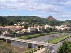 Photo paysage et monuments, Alès - Gardon d'Alès après midi du 23 octobre 2013