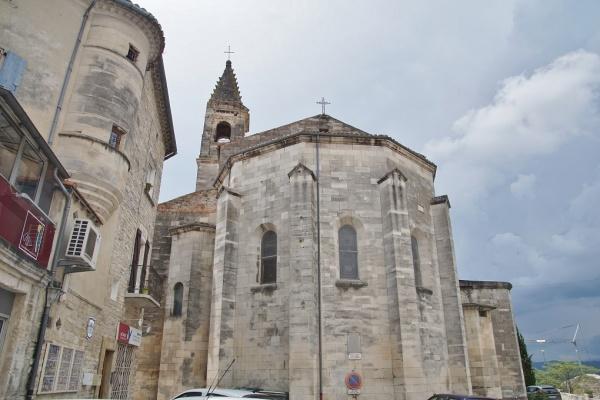 Photo Barjac - église Saint Laurent