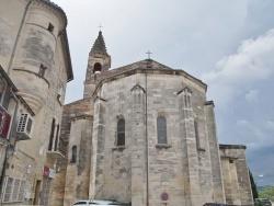 Photo paysage et monuments, Barjac - église Saint Laurent