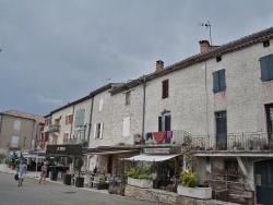 Photo paysage et monuments, Barjac - le village