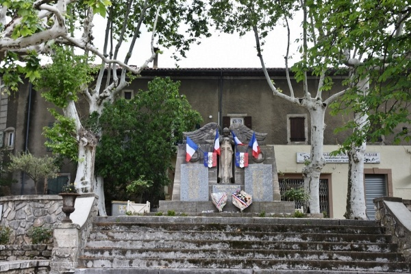 Photo Barjac - le Monument Aux Morts