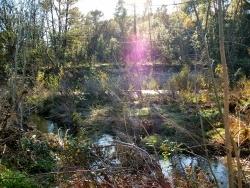 Photo paysage et monuments, Gagnières - Lumière automnale sur la Ganière