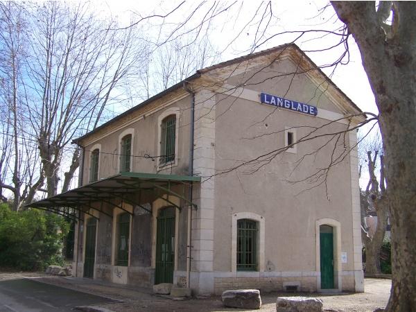 Ancienne gare de Langlade