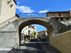 Photo paysage et monuments, Lézan - Le Pont de Lézan