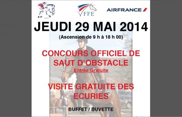 CONCOURS EQUITATION EN PARTENARIAT AVEC AIR FRANCE