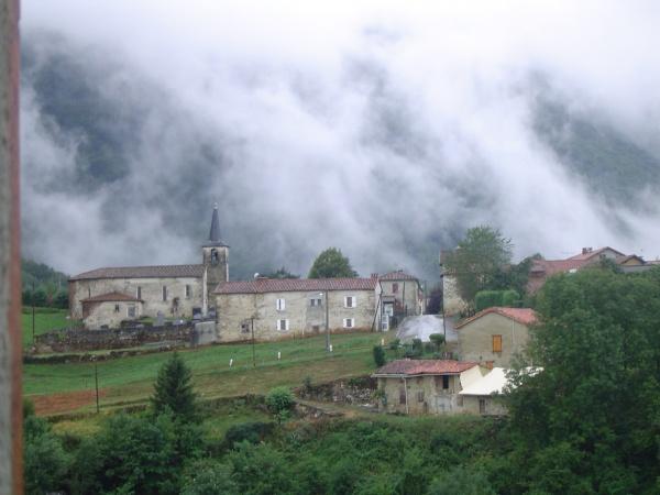 le village après l'orage