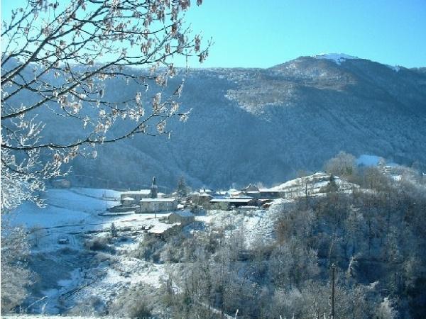 Photo Herran - le village en hiver