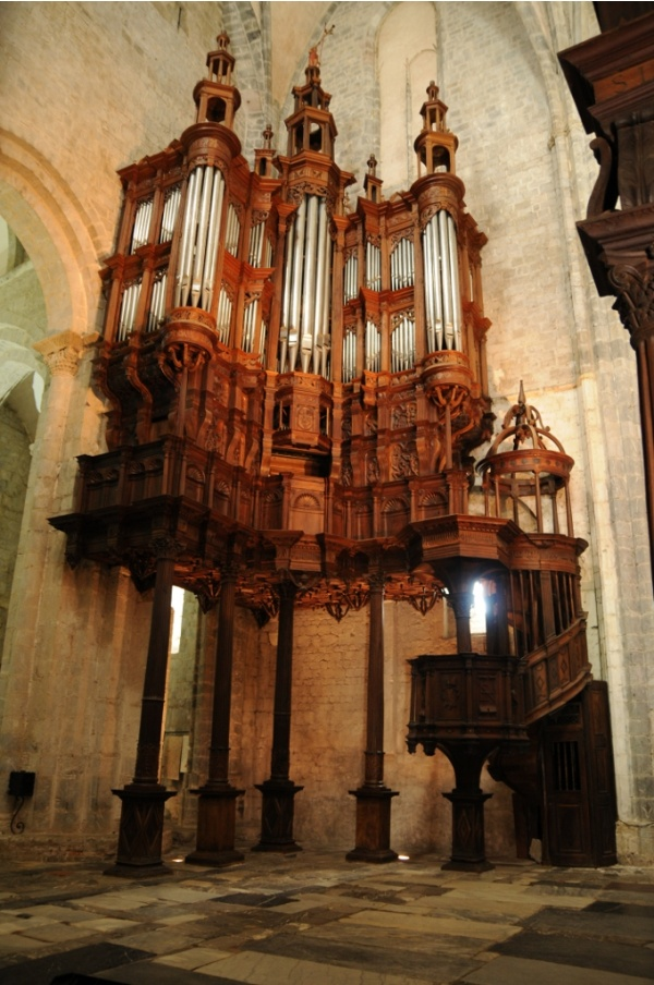 Photo Saint-Bertrand-de-Comminges - Cathédrale Sainte Marie - Grandes orgues