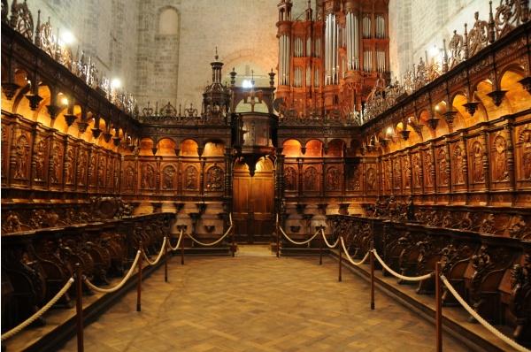 Photo Saint-Bertrand-de-Comminges - Cathédrale Sainte Marie - les stalles