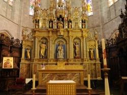 Photo paysage et monuments, Saint-Bertrand-de-Comminges - Cathédrale Sainte Marie - Le retable