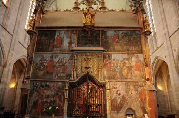 Photo Saint-Bertrand-de-Comminges - Cathédrale Sainte Marie - Mausolée de saint Bertrand