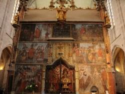 Photo paysage et monuments, Saint-Bertrand-de-Comminges - Cathédrale Sainte Marie - Mausolée de saint Bertrand