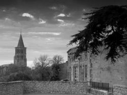 Photo paysage et monuments, Saint-Félix-Lauragais - vue sur église