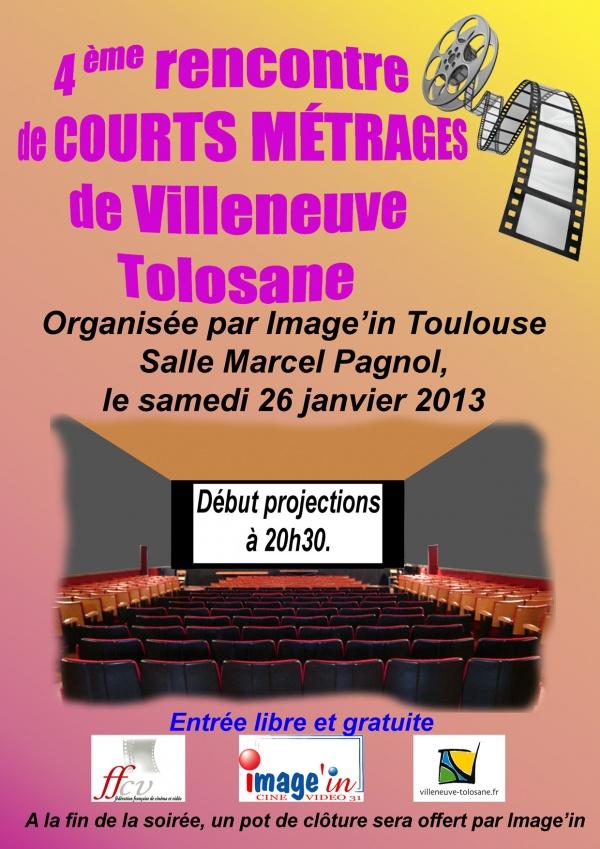 Projection courts métrages organisés Image'in31