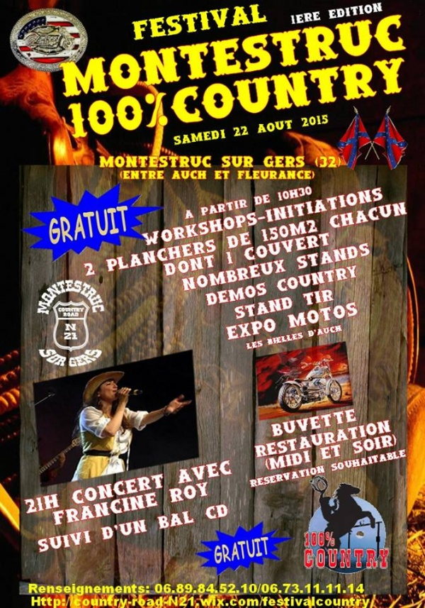 FESTIVAL MONTESTRUC 100% COUNTRY