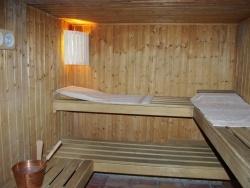 Sauna privé dans votre chambre : Les Palmiers du Port, Barsac en Gironde (entre Sauternes et Bordeau